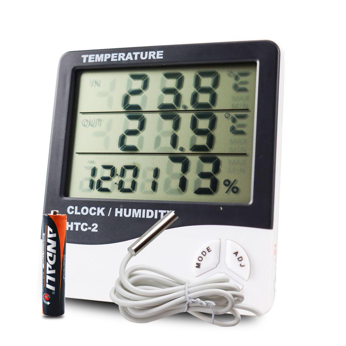 Medidor de Umidade e Temperatura Digital em LCD FEPRO-MUT60OS