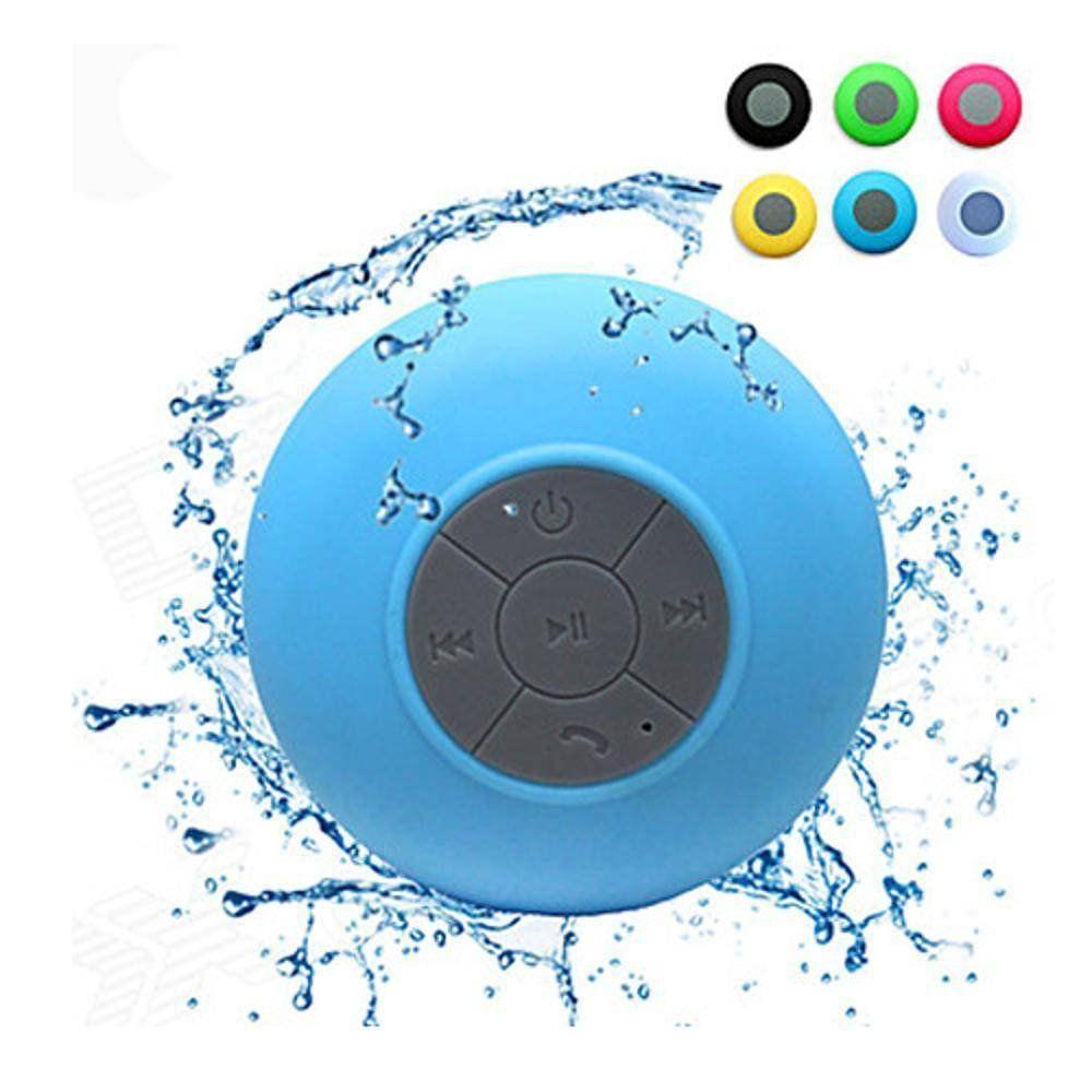 Mini Caixa de Som Bluetooth a Prova D'água com Ventosa