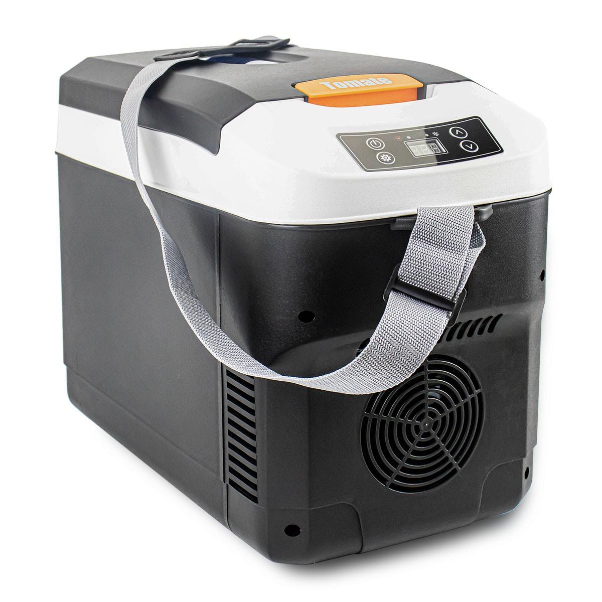 Mini Cooler Geladeira de Carro 10L Refrigerador e Aquecedor Automotivo 50W Tomate MDC-010