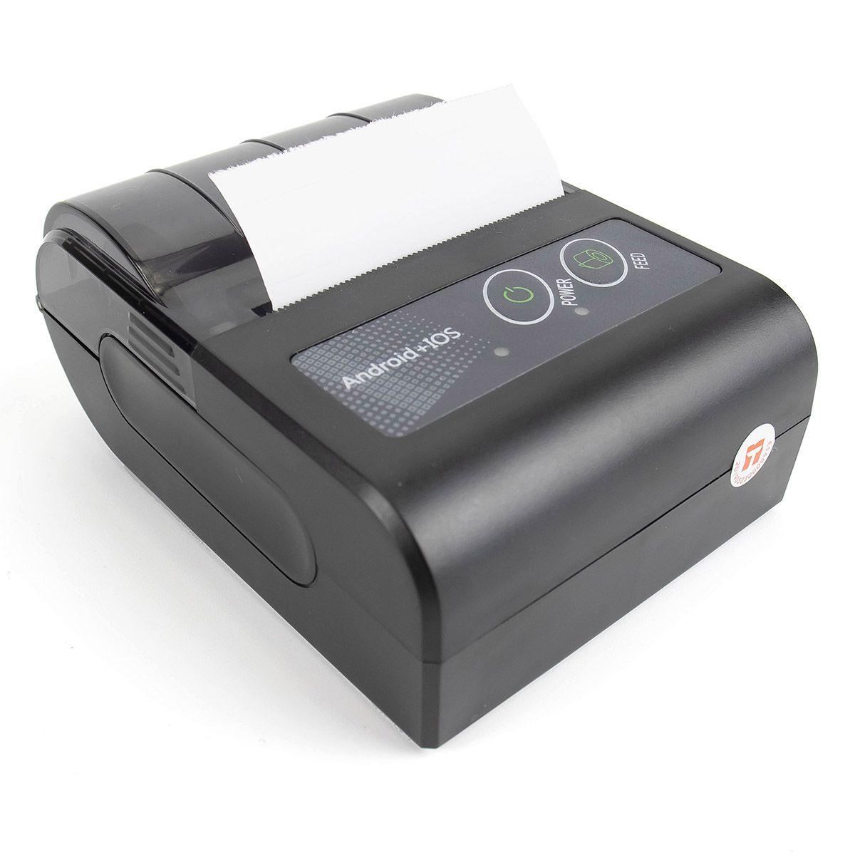 Mini Impressora Térmica Bluetooth Portátil 58mm ITE-P58HBT