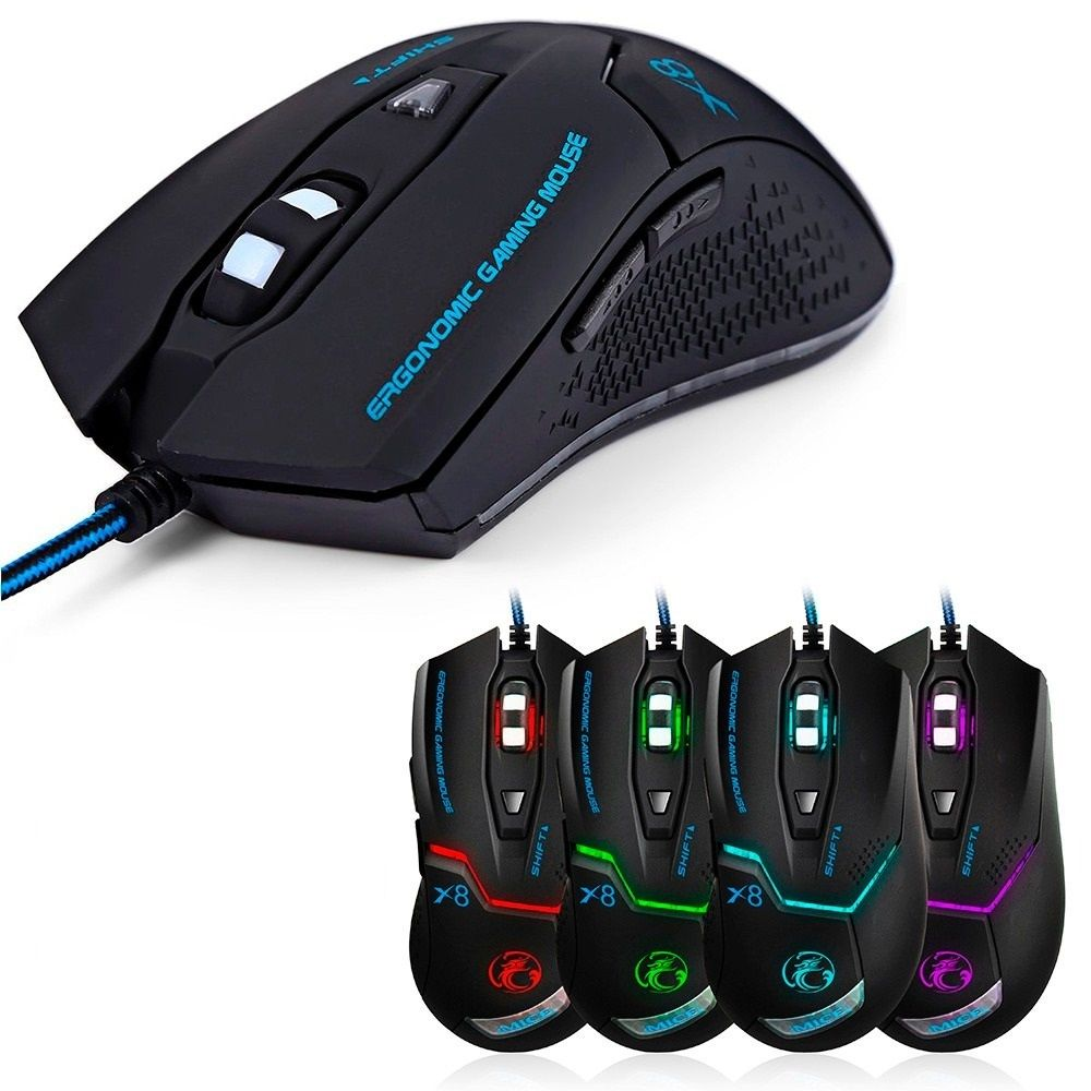 Mouse Gamer Usb B-Max X8