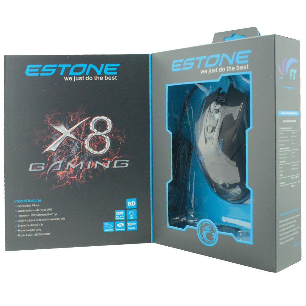 Mouse Gamer Usb Estone X8
