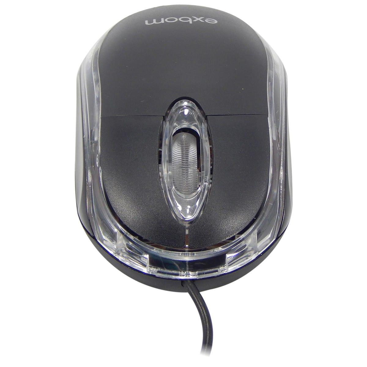 Mouse Óptico USB Exbom MS-10