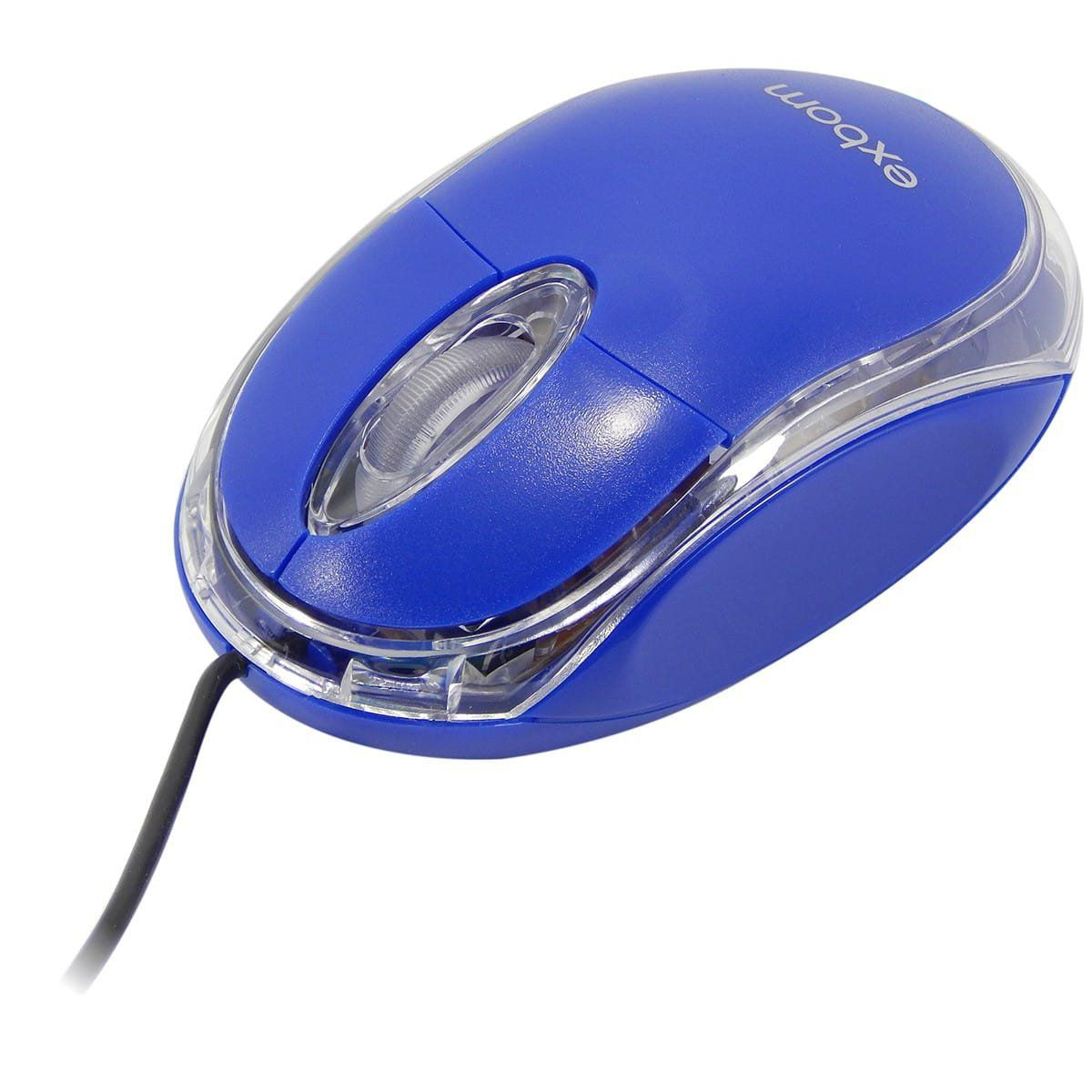 Mouse Óptico USB Exbom MS-10