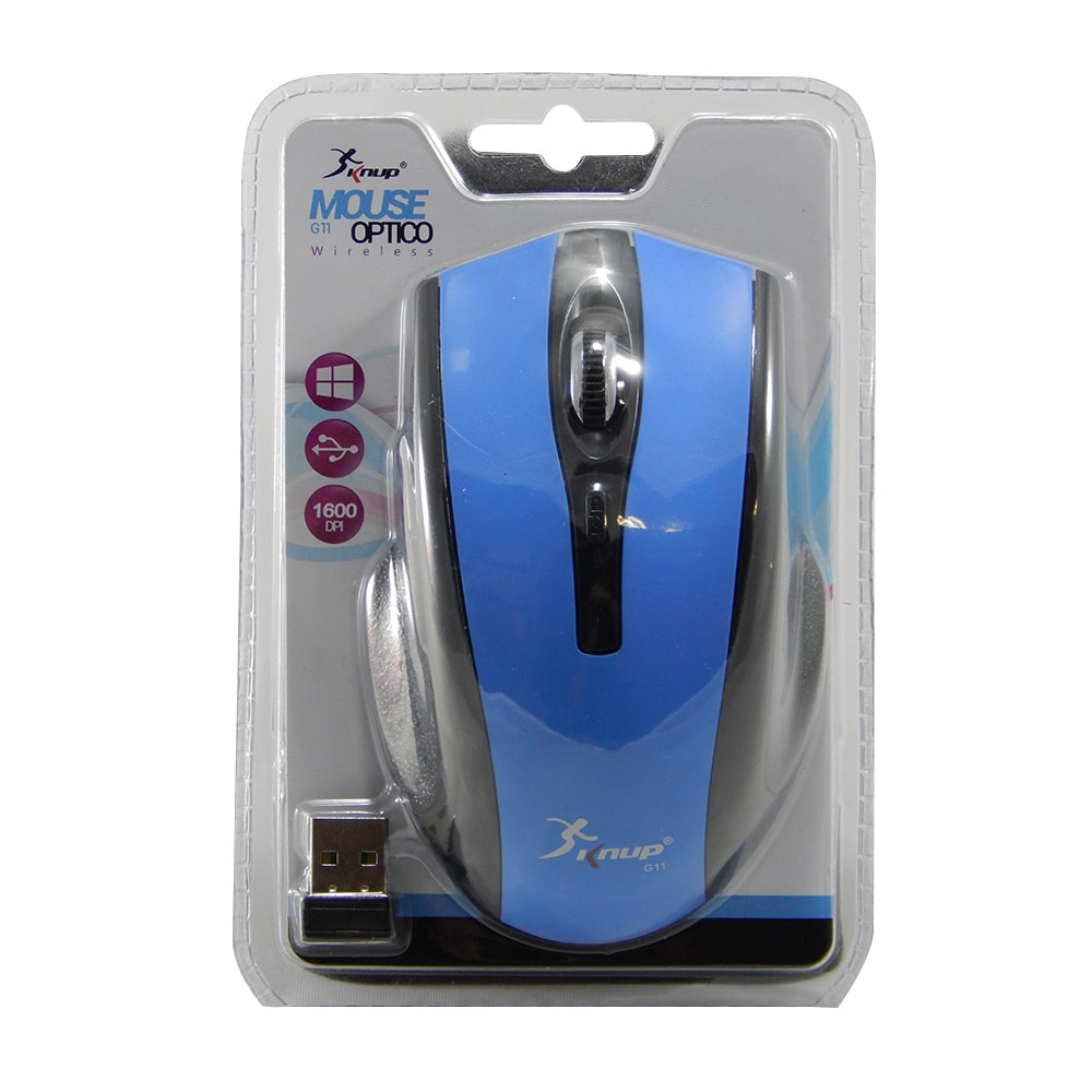 Mouse Sem Fio Knup G11