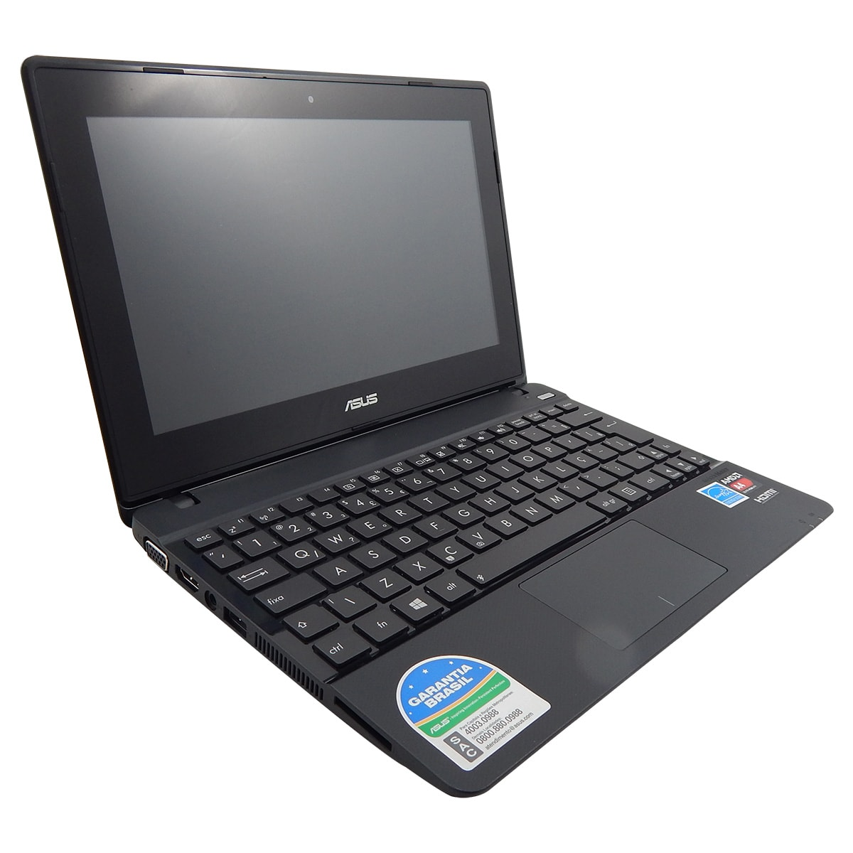 Netbook Asus X102ba Amd Dual Core 2gb DDR3 320gb Tela 10.1 Touch