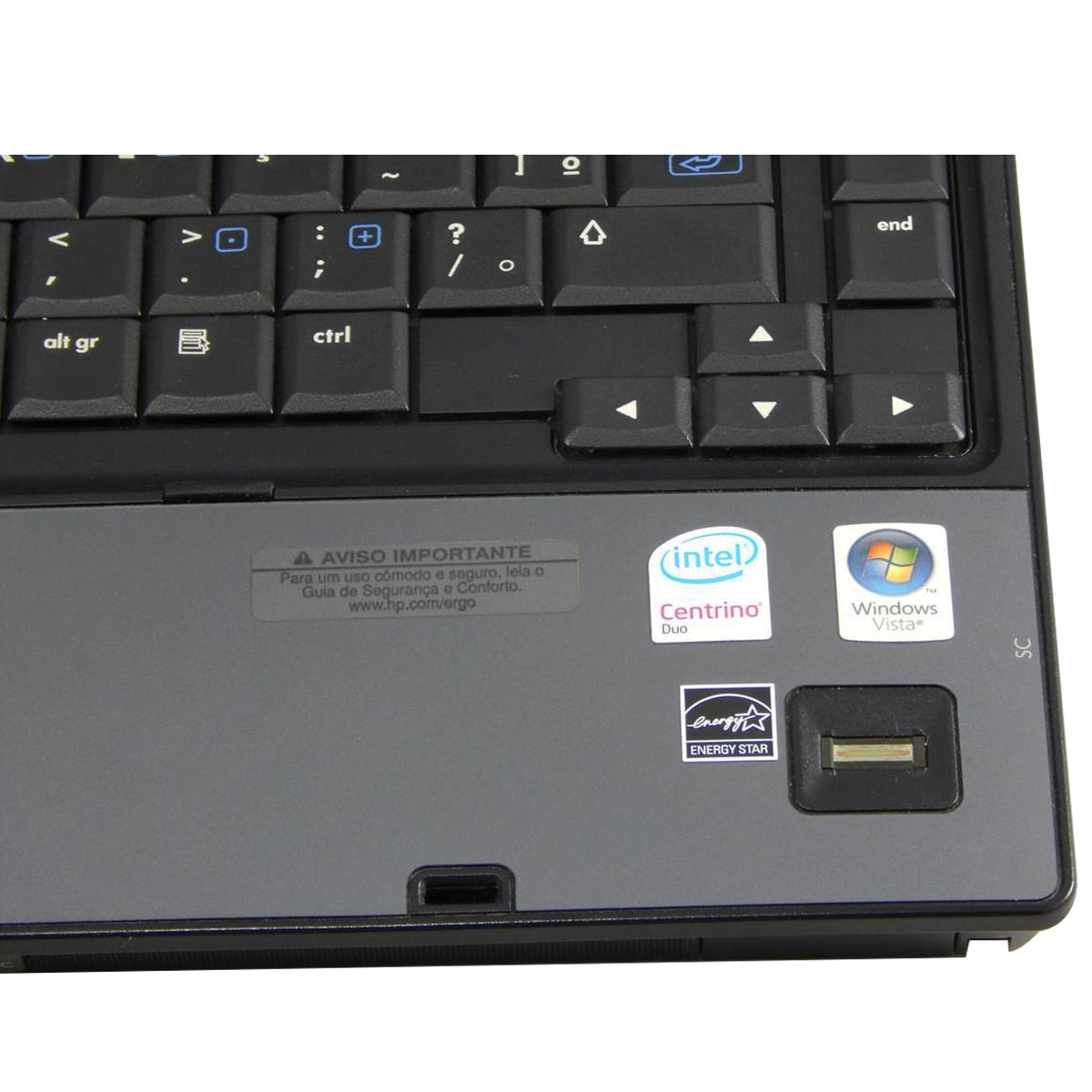 "Notebook HP Compaq 6910p C2D T7500 2gb 160gb 14"" - Usado"