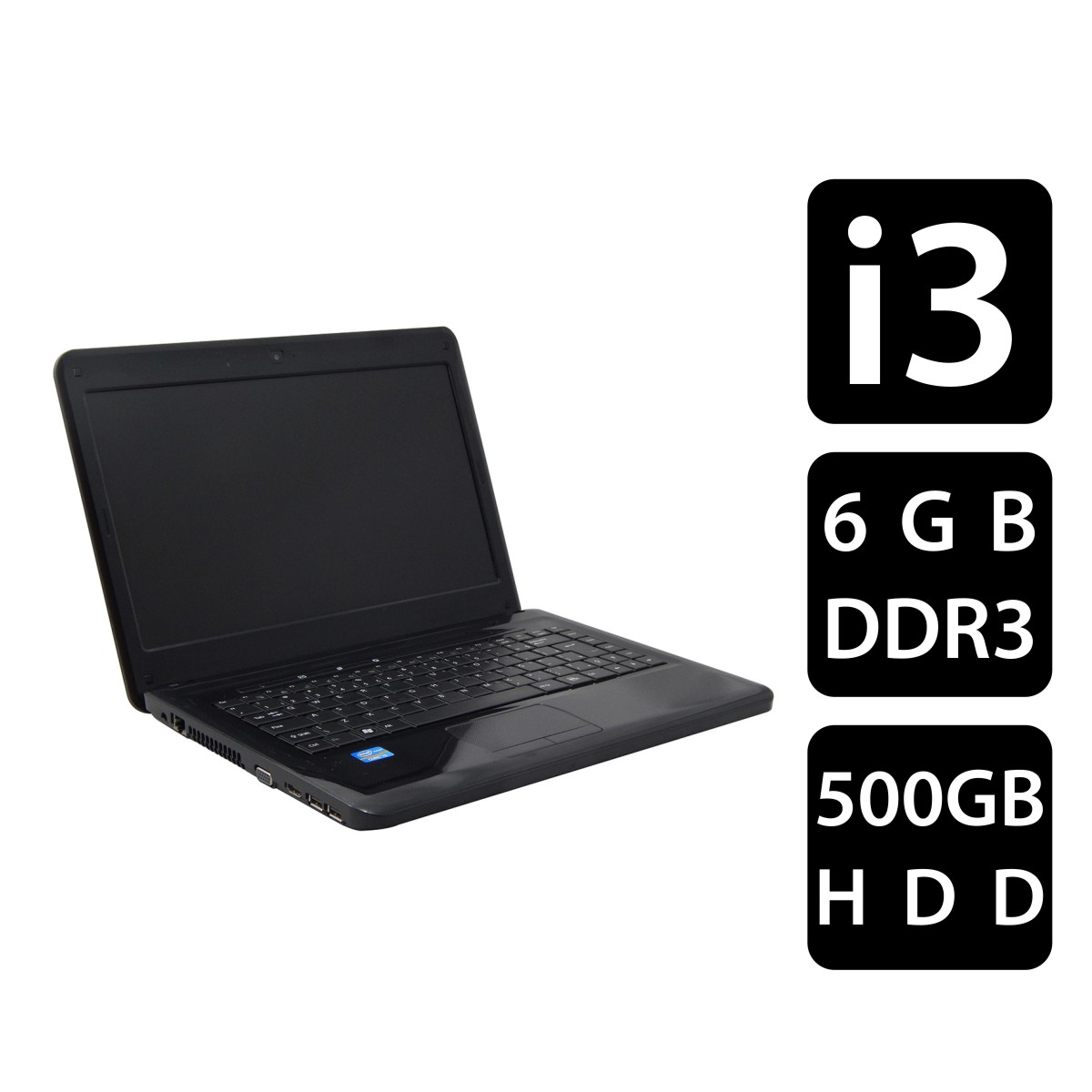 NOTEBOOK POSITIVO SIM 7520 I3-2310 6G 500gb - Seminovo
