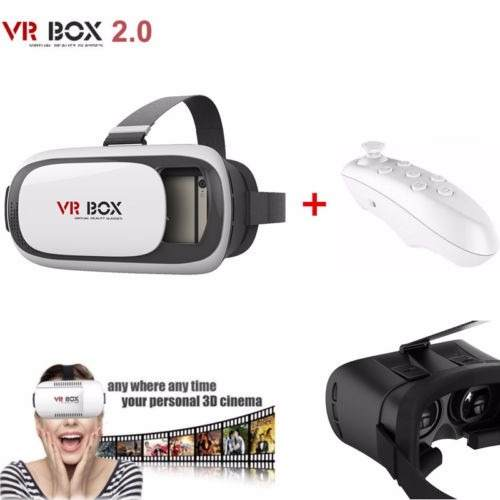 Óculos VR Box 2.0 Android IOS c/ Controle Bluetooth