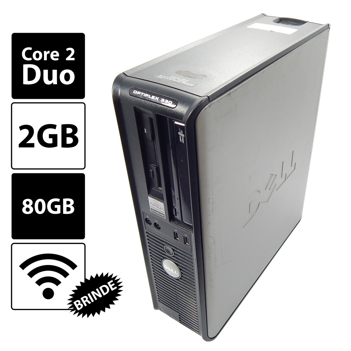 PC Dell Optiplex 330 C2D E6550/2G/80