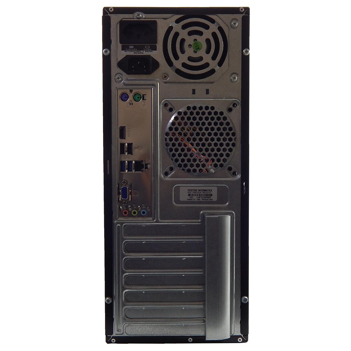 PC POSITIVO PREMIUM DRI8432 I5-4460 4Gb 1Tb Gravador DVD - Reembalado