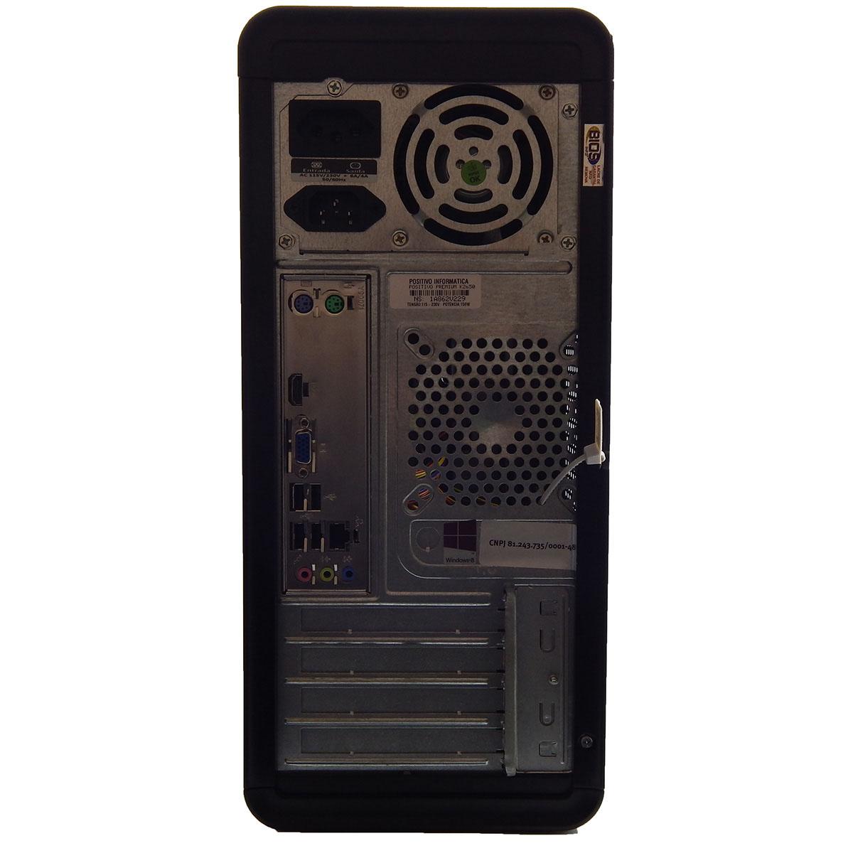PC POSITIVO Premium K5270 I3-2120 4Gb 500Gb HD Gravador DVD - Reembalado