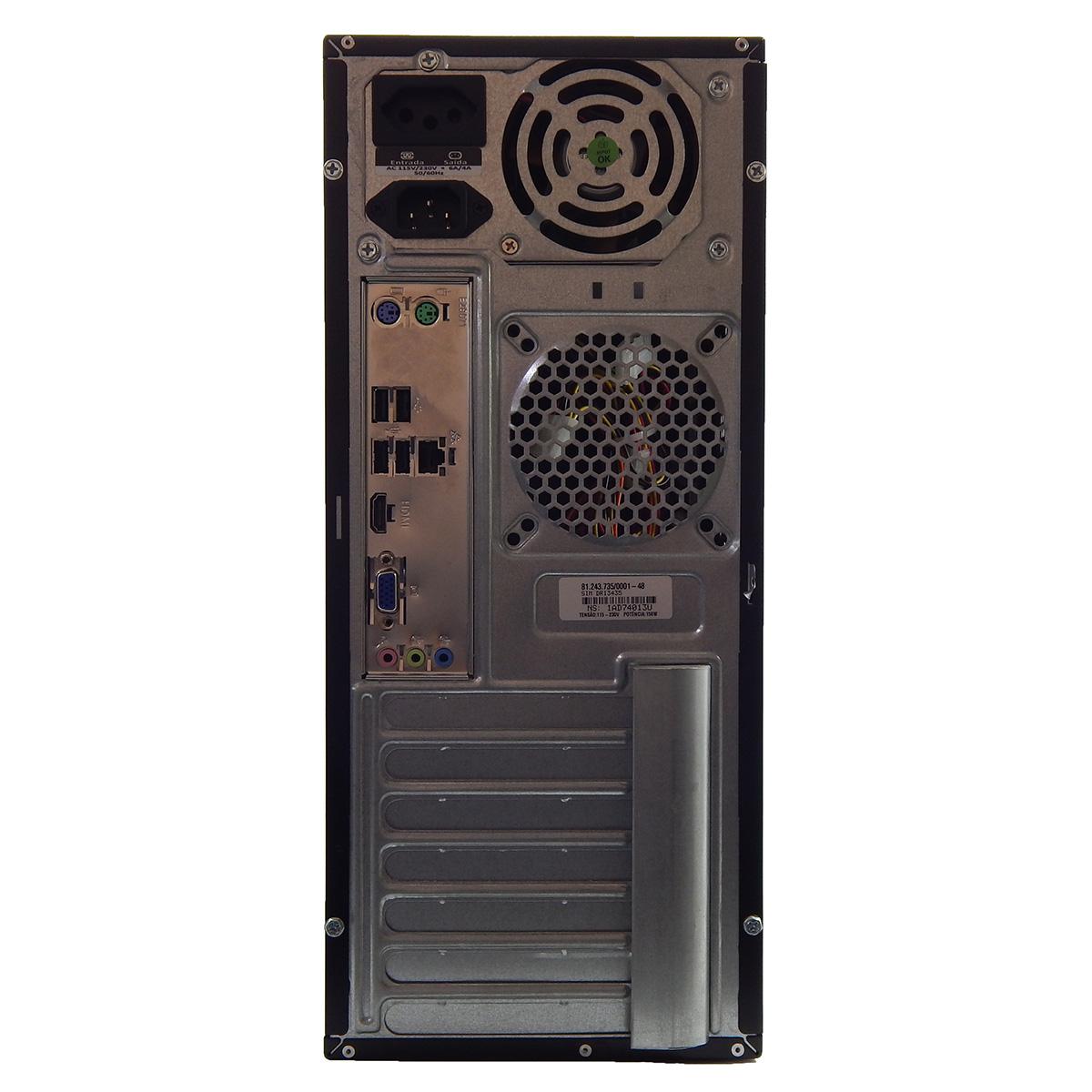 PC POSITIVO SIM DRI3435 Celeron J1800i 8Gb 1Tb DVD - Reembalado