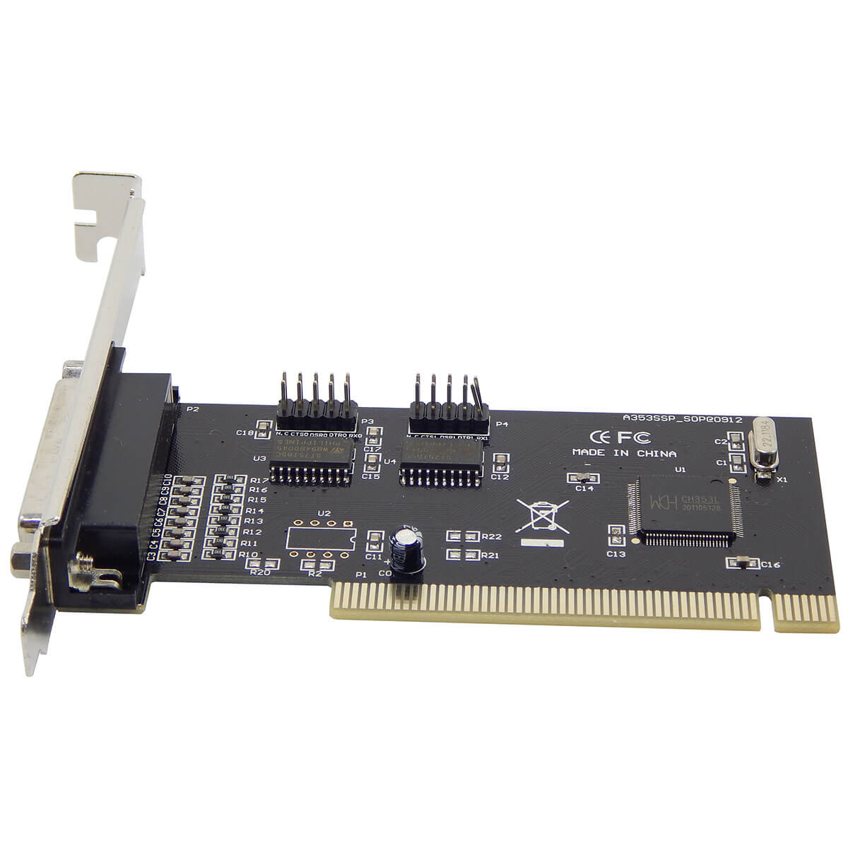 Placa Multi I/O com 2 Portas Paralelas e 1 Porta Controladora