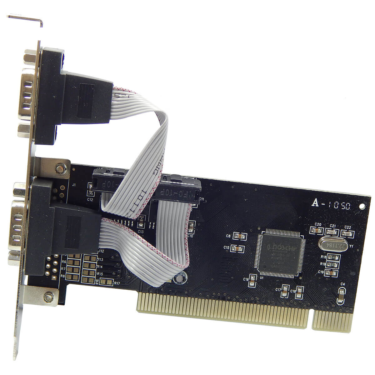 Placa PCI FPSS-01 P/IMPR. 2 PORT. SERIAL RS-232 DB-9
