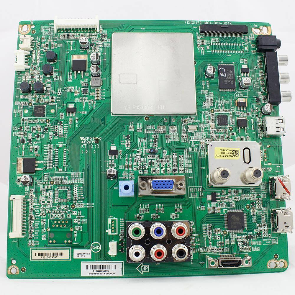 Placa de Sinal TV Philips Pn 715G5172-M01-001-004k - Nova
