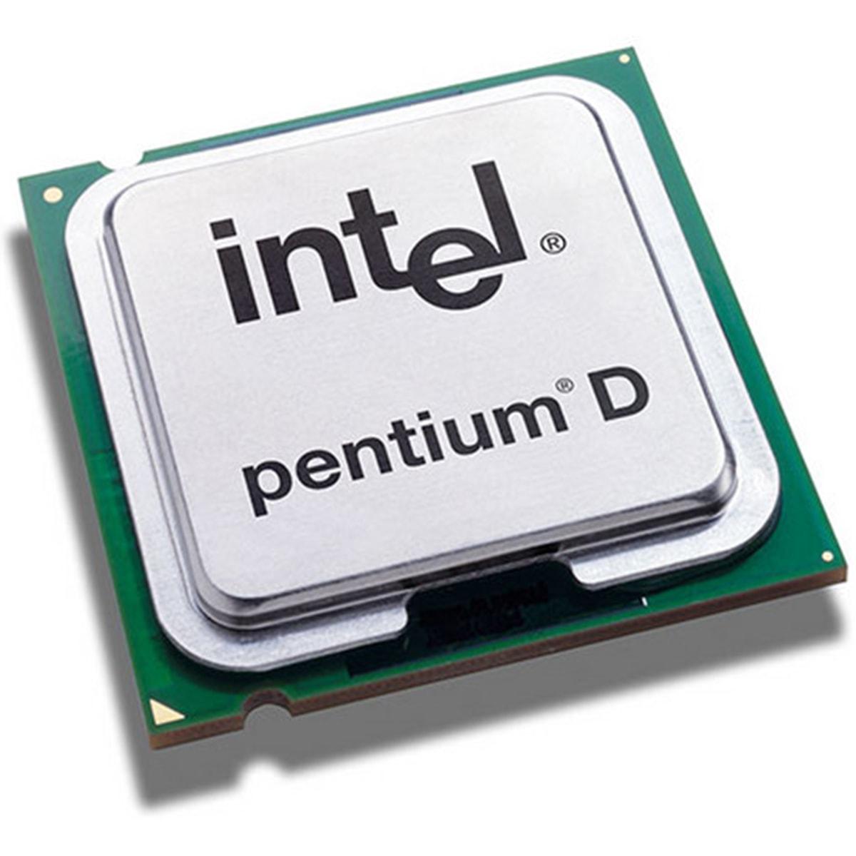 Processador Intel Pentium D 805 2,66Ghz 2M Cache 533MHz - Socket 775 - Seminovo