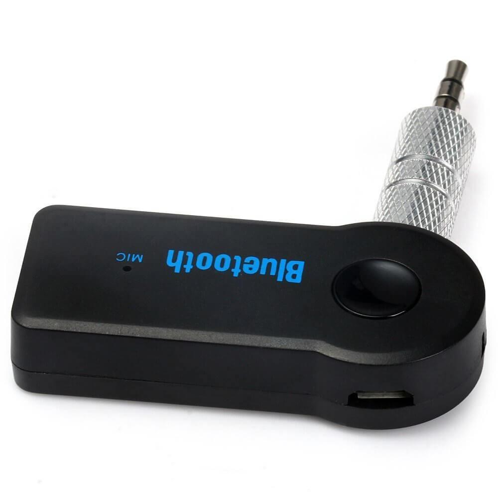 Receptor Bluetooth BT-310 para Entrada P2 Auxiliar com Microfone Integrado