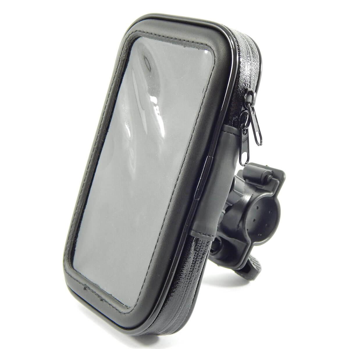 Suporte de Celular Impermeável para Moto e Bicicleta