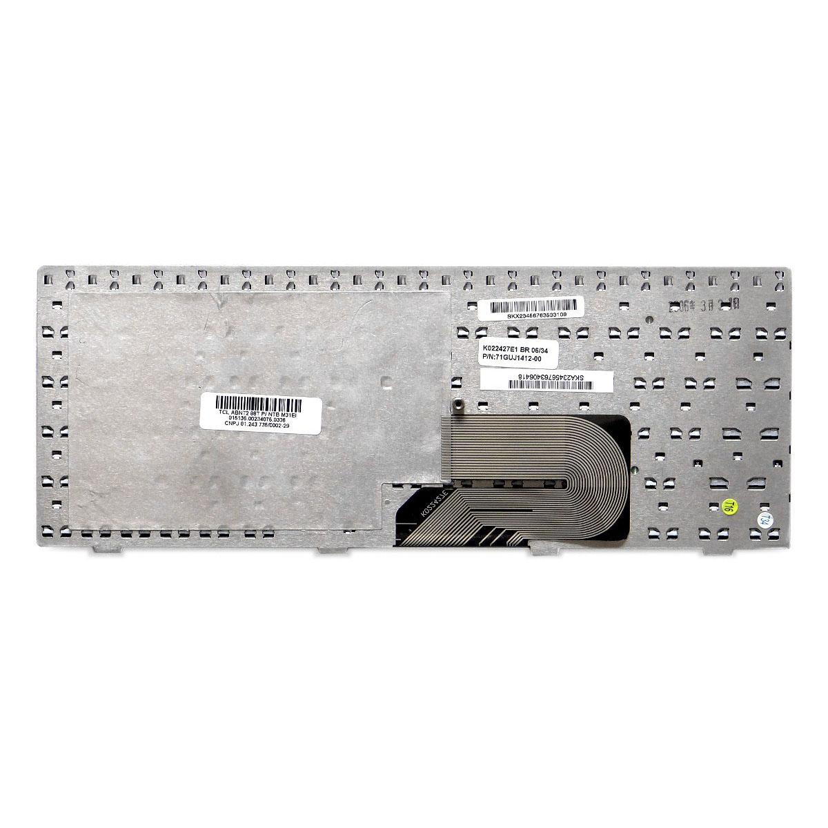 Teclado Notebook Positivo Pn: K022427E1 / 71GUJ1412-00