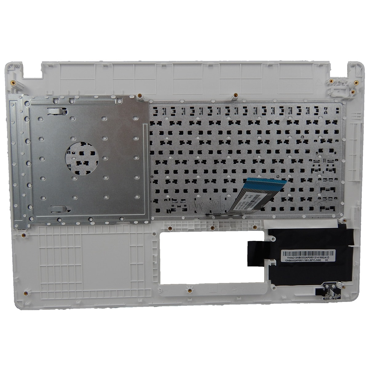 Teclado Ultrabook Asus X451ca/ma c/ Moldura Branca Sem Touch Pn: MP-13K86PA-9201