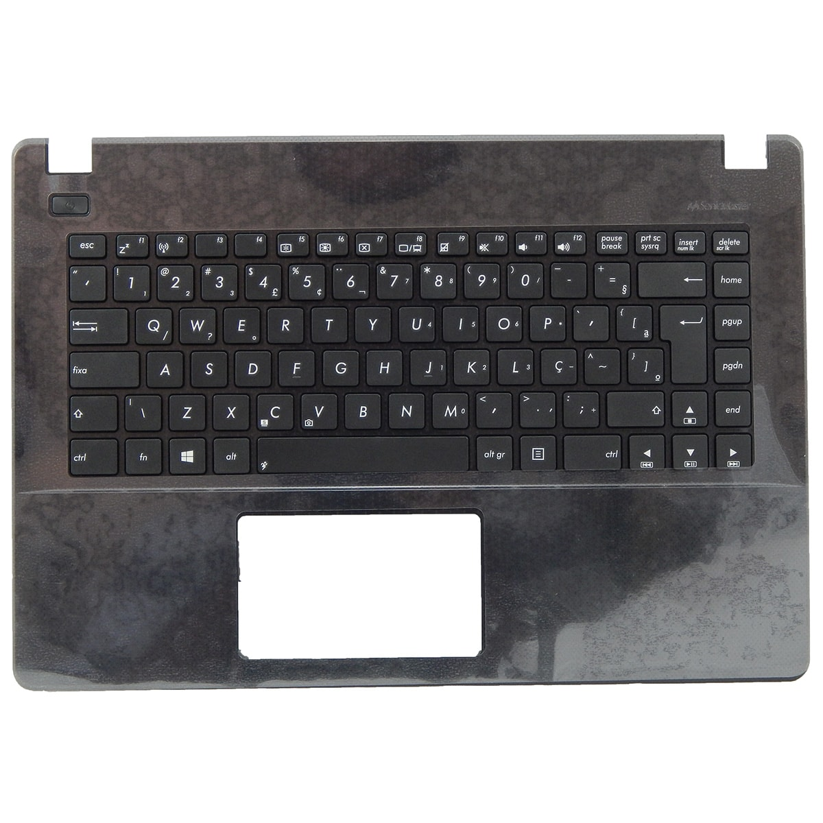 Teclado Ultrabook Asus X451ca/ma c/ Moldura Preta Sem Touch Pn: SN2531 / AEXJB600110