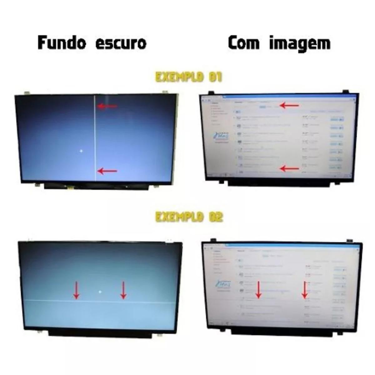 Tela 11.6 Led Slim 30 Pinos Pn: B116xtn01.0 Hw1a - Nova - COM LINHA DE PIXEL