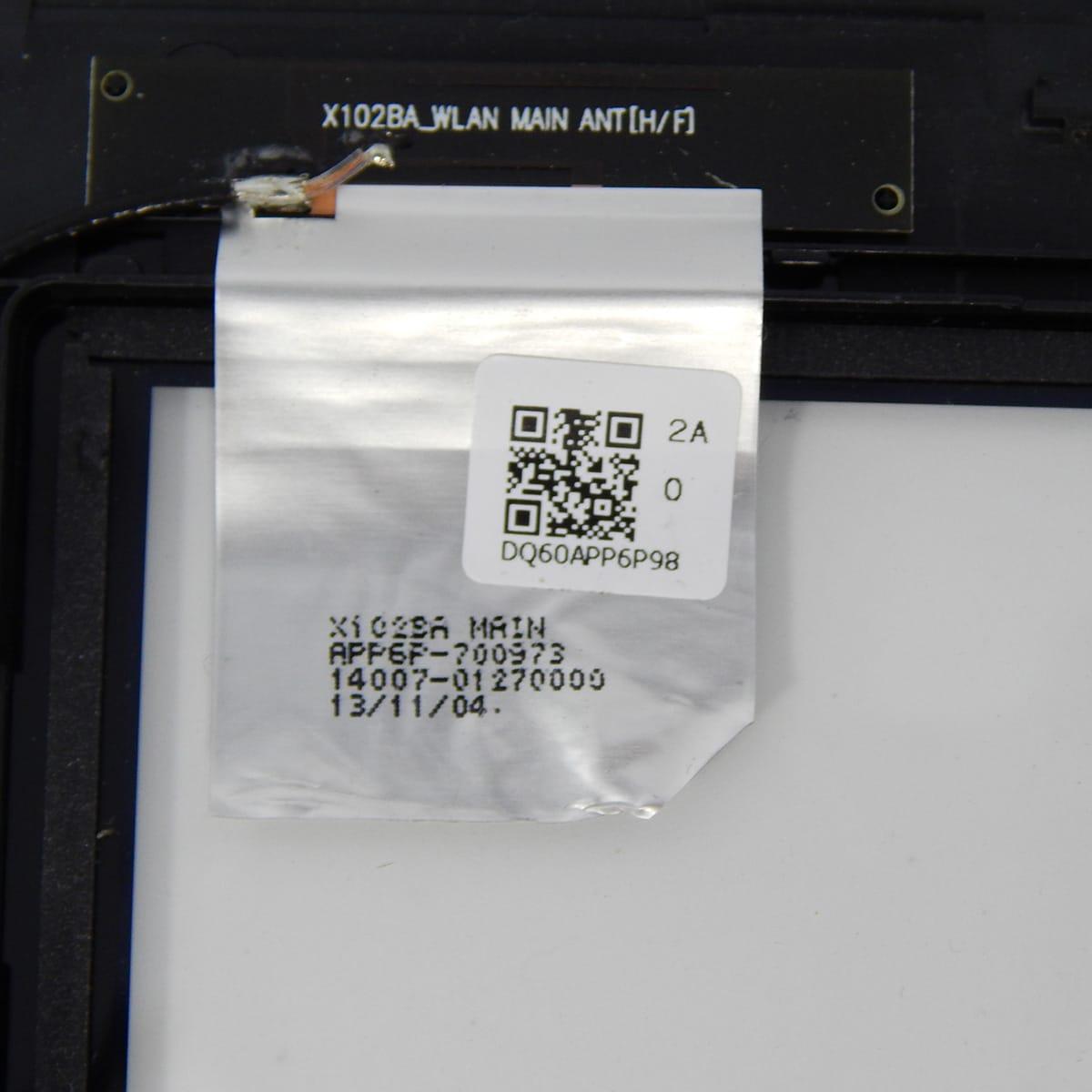 Tela Touch Notebook Asus 10.1 X102ba C/ Flat Da Tela - Nova