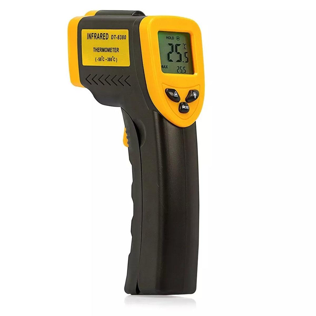 Termometro Digital Infravermelho com Mira Laser DT-8380