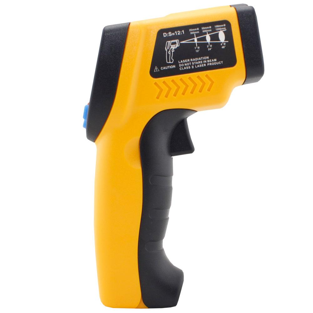 Termometro Digital Infravermelho com Mira Laser GM320