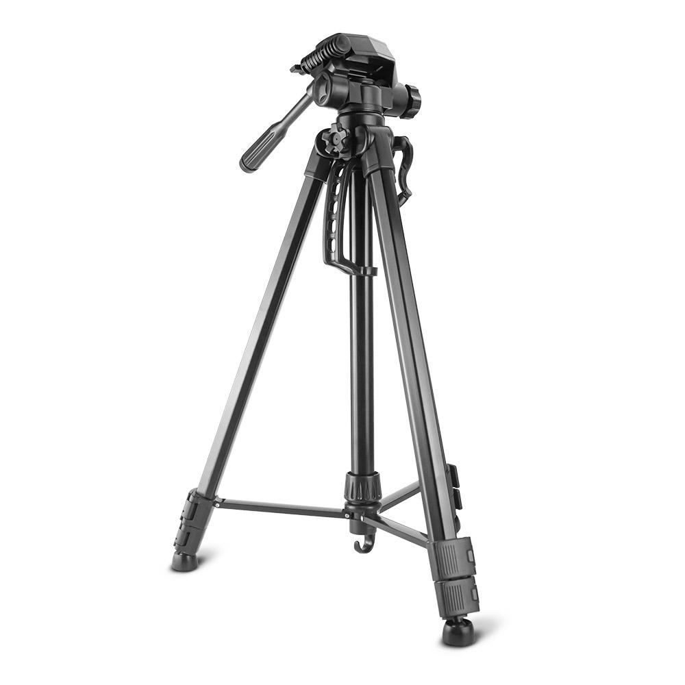 Tripé para Câmera e Celular Smartphone Hastes de Alumínio 1,7 Metros B-Max BMG-13 / SL-3600 (Preto)