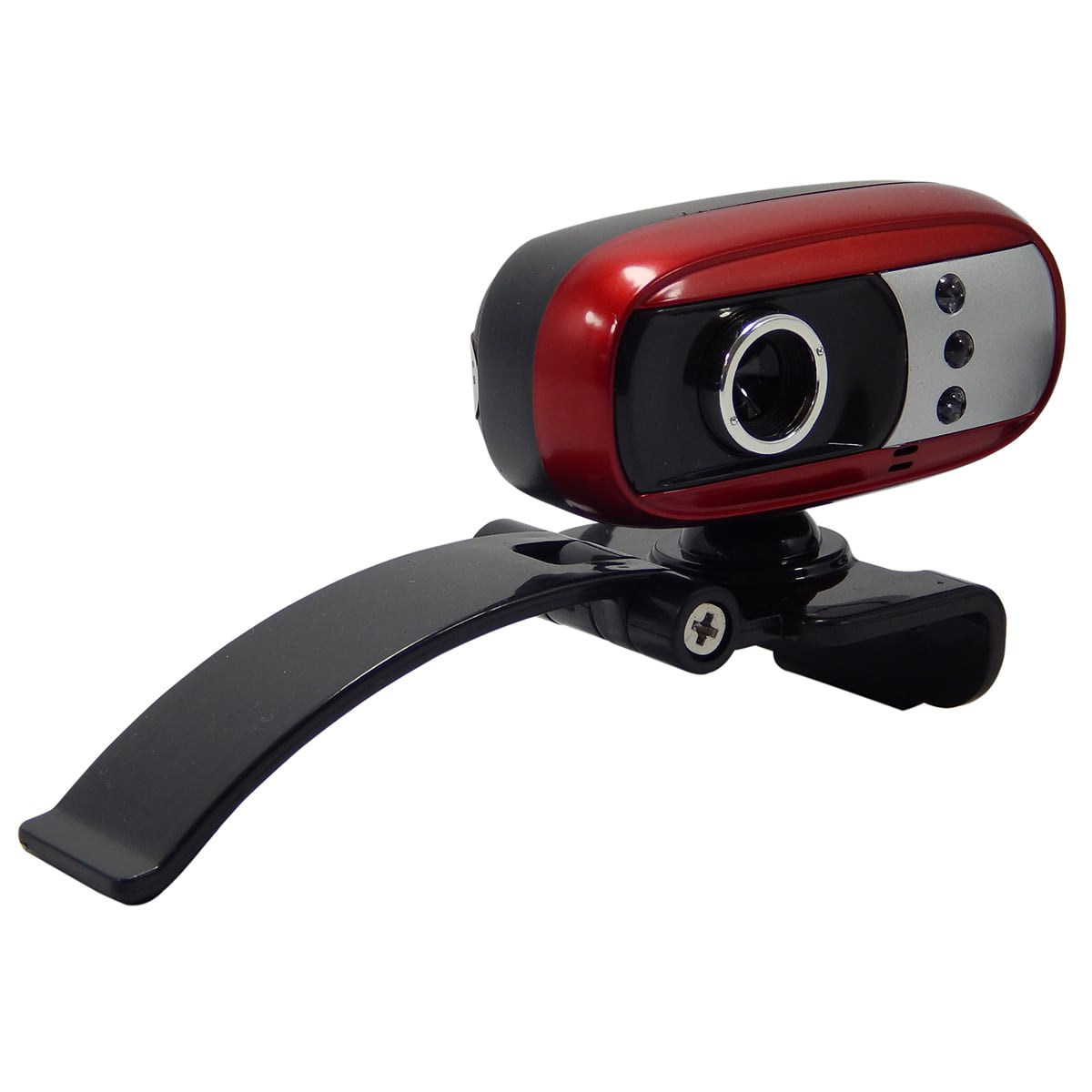 Webcam c/ Mic e Led Infokit N-300MV