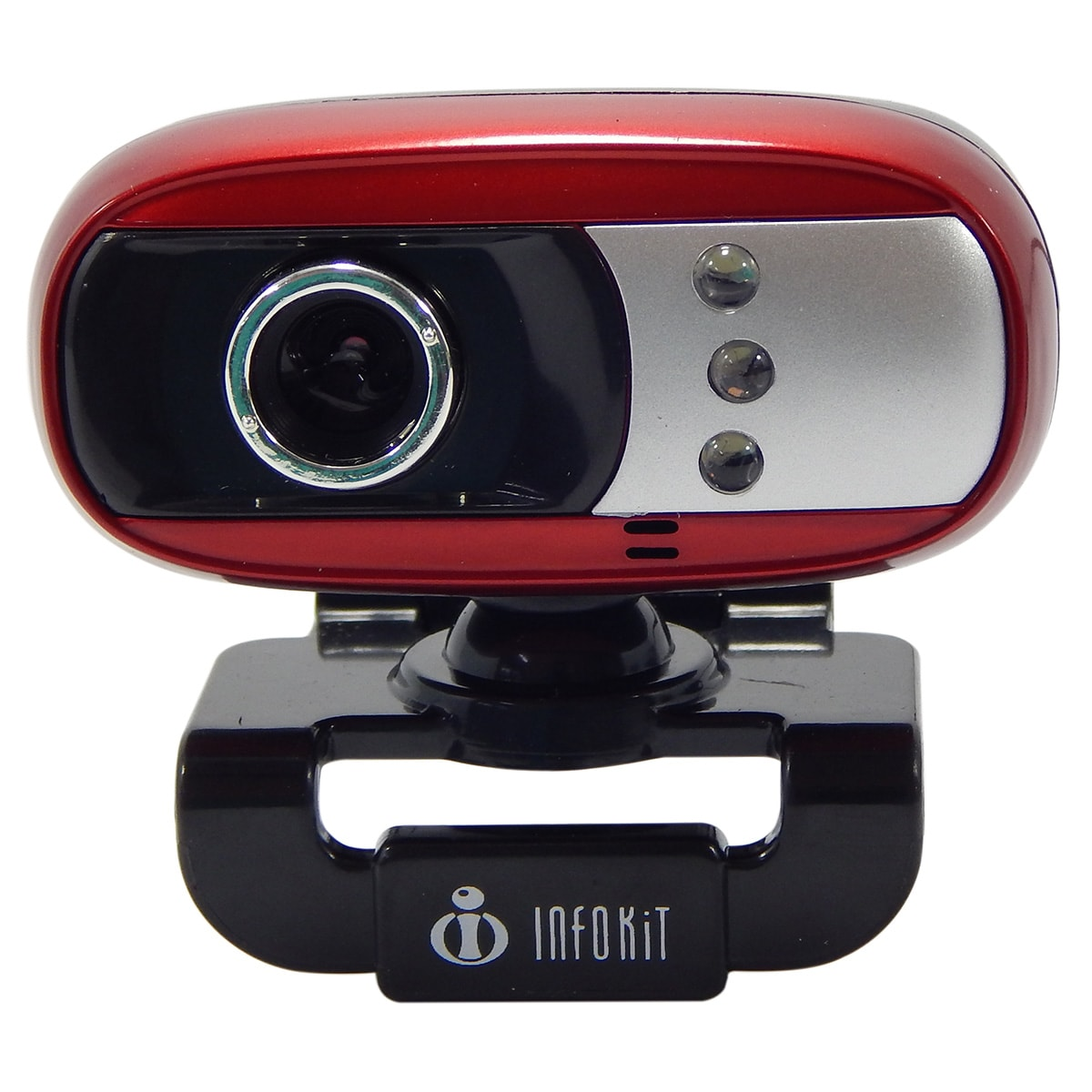 Webcam c/ Mic e Led Infokit N-300MV
