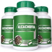 Alcachofra - 500mg - 03 Potes