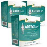 Artrofan - Original - 500mg - 03 Caixas (90 cápsulas)