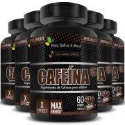 Cafeína em Cápsulas de 500mg - 05 Potes