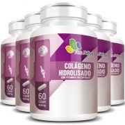 Colágeno Hidrolisado com Vitaminas - 400mg - 05 Potes