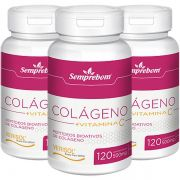 Colágeno Verisol + Vitamina C - 500mg - 3 Potes
