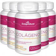 Colágeno Verisol + Vitamina C - 500mg - 5 Potes