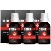 DrinkOff Original - 03 Frascos