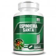 Espinheira Santa 500mg - 100% Pura - 60 cápsulas