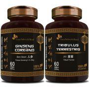 Ginseng Coreano 400mg + Tribullus Terrestris 500mg
