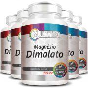 Magnésio Dimalato 500mg - 5 Potes