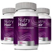 Nutry Hair Original | Vitamina para Cabelo - 03 Potes