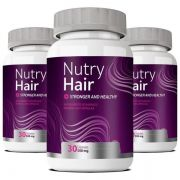 Nutry Hair Vitamina para Cabelo - 03 Potes (Original)