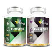 Óleo de Coco Extra Virgem 1000mg + Óleo de Alho 250mg