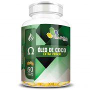 Óleo de Coco Extra Virgem - 60 cápsulas de 1000mg