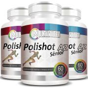 Polishot AZ Senior (Polivitaminico / Multivitaminico)  400mg - 03 Potes