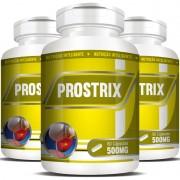 Prostrix 500mg - Saúde da Próstata - 03 Potes com 60 cápsulas