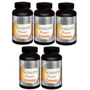 Seniors Power - Original -1000mg | Estimulante Sexual Masculino | 05 Potes